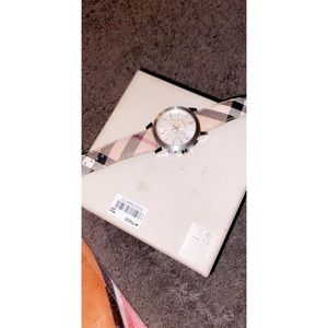 Burberry Accessories - Burberry unisex watch. Used with Box.